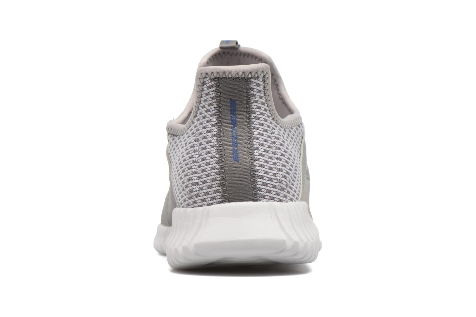 Sport shoes Skechers Elite Flex Grey view from the right