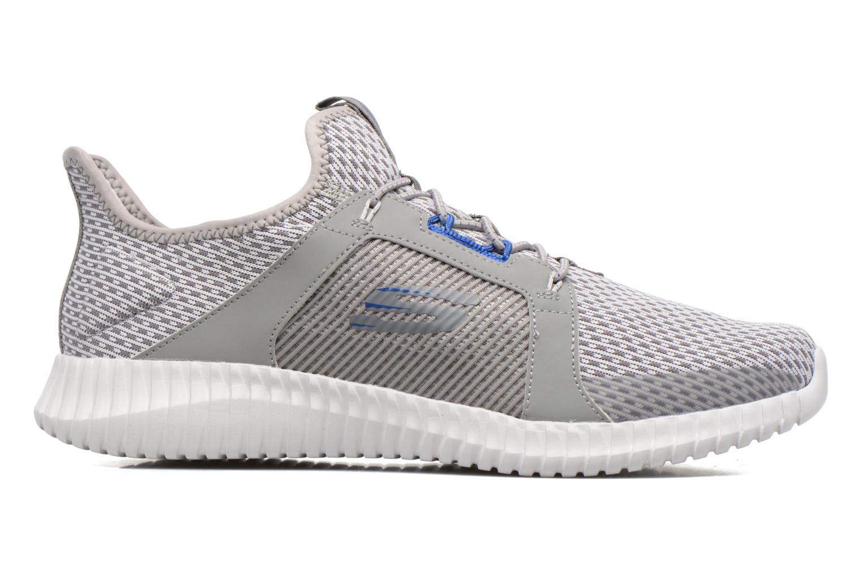 Sport shoes Skechers Elite Flex Grey back view