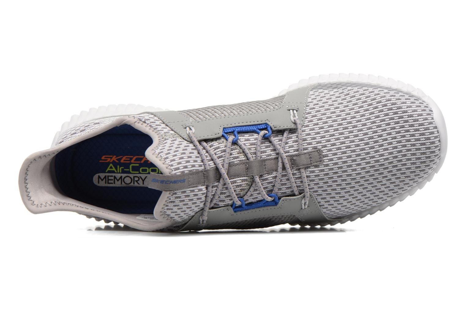 Sport shoes Skechers Elite Flex Grey view from the left