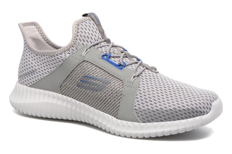 Sport shoes Skechers Elite Flex Grey detailed view/ Pair view