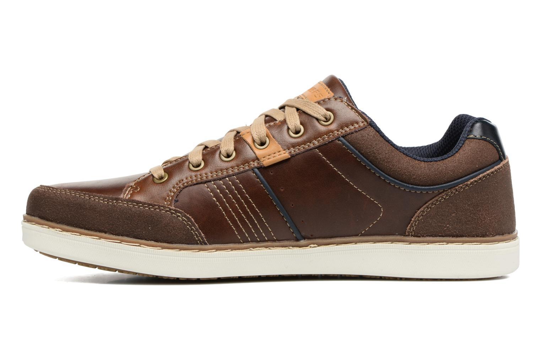 Sneakers Skechers Larson Rometo Brun se forfra