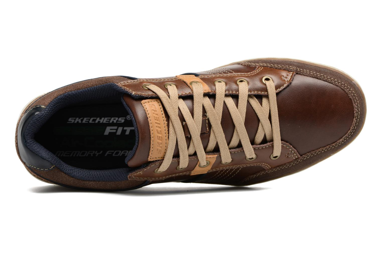 Sneakers Skechers Larson Rometo Brun se fra venstre