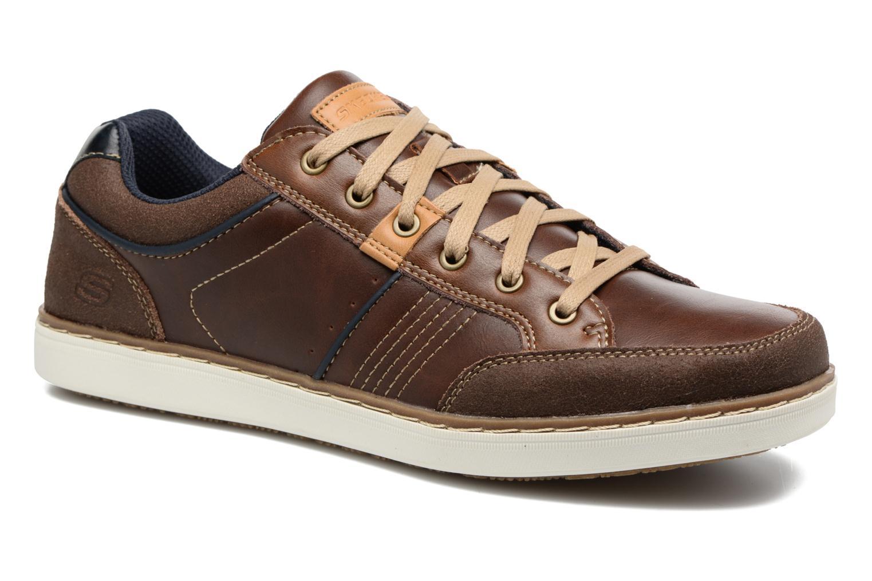 Sneakers Skechers Larson Rometo Brun detaljeret billede af skoene