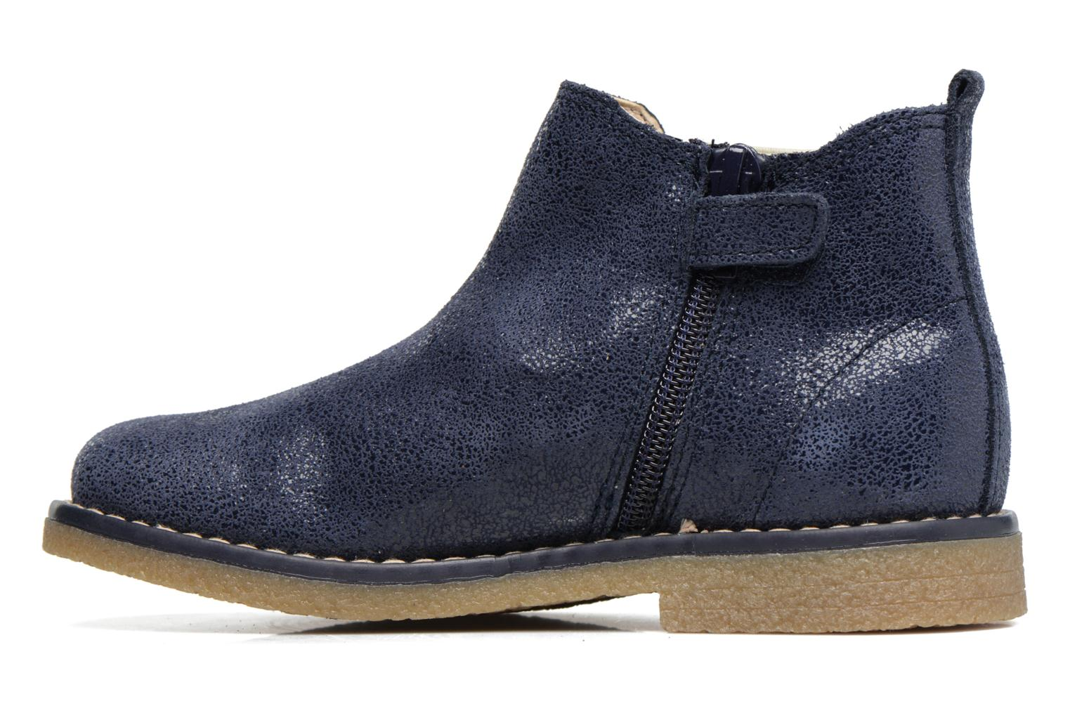 Ankle boots Pablosky Carla Blue front view