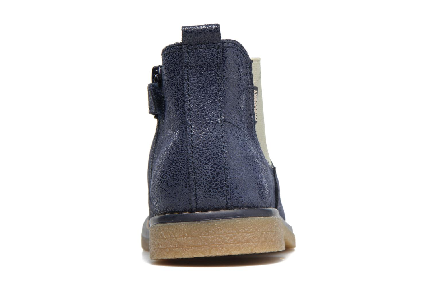 Ankle boots Pablosky Carla Blue view from the right