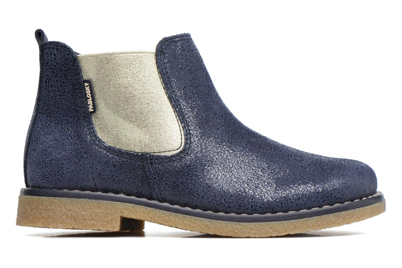 Bottines et boots Pablosky Carla Bleu vue derrière