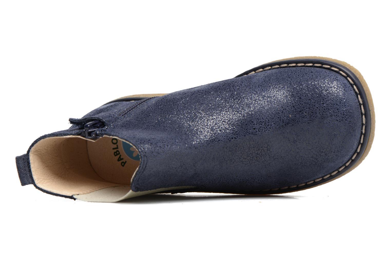 Bottines et boots Pablosky Carla Bleu vue gauche