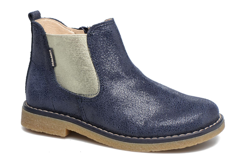 Bottines et boots Pablosky Carla Bleu vue détail/paire