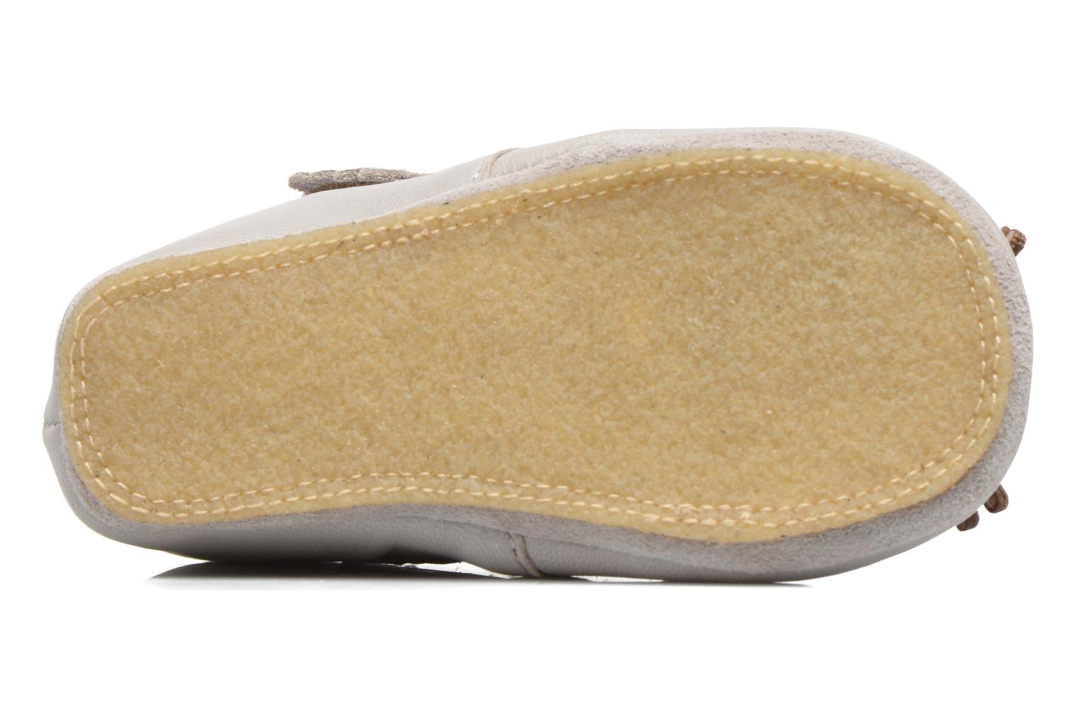 Chaussons Easy Peasy Kiny Mousse Gris vue 3/4