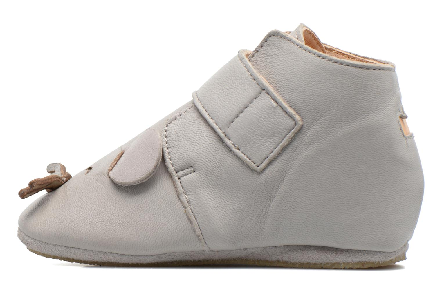 Chaussons Easy Peasy Kiny Mousse Gris vue droite