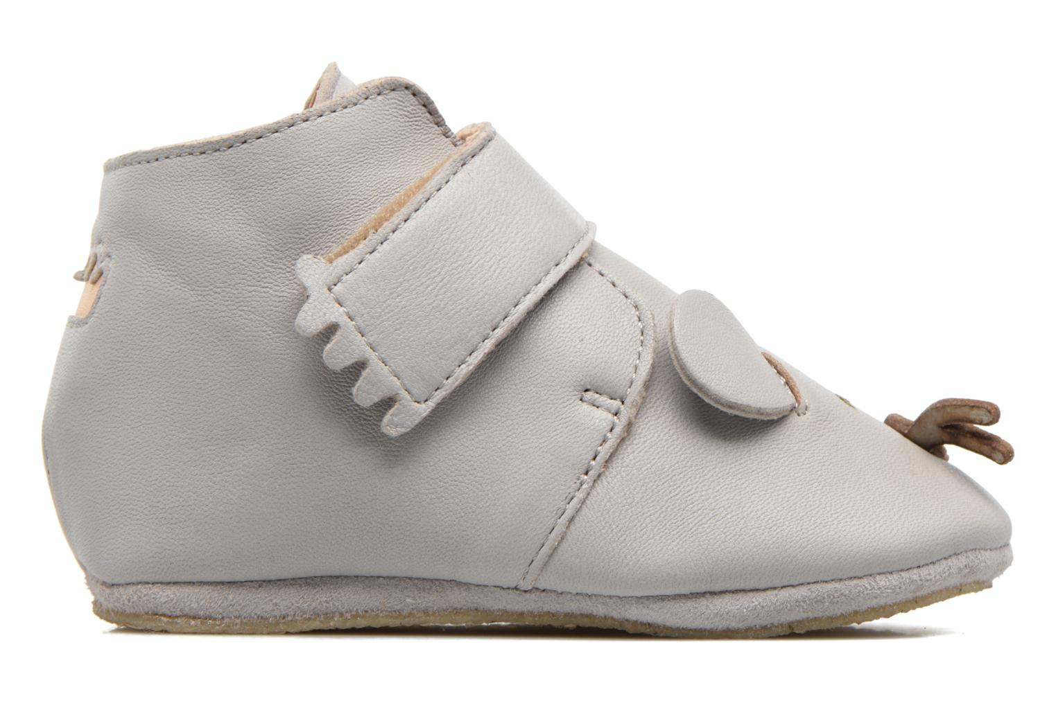 Chaussons Easy Peasy Kiny Mousse Gris vue gauche