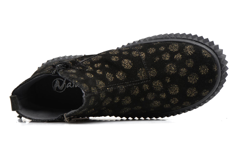 Bottines et boots Naturino Naturino 5253 Noir vue gauche