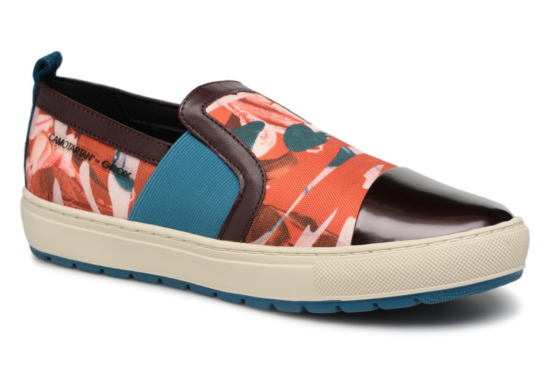 Nuevos zapatos para hombres y mujeres, descuento por tiempo limitado Geox D Breeda A D642QA (Marrón) - Deportivas en Más cómodo