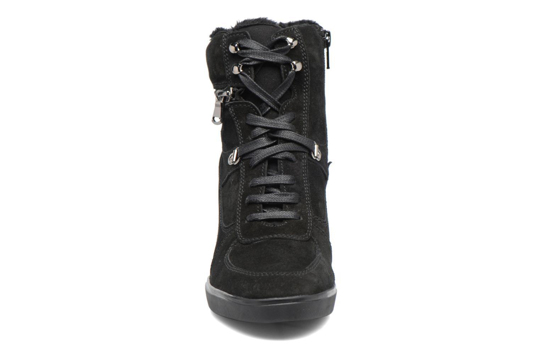 Baskets Geox D Eleni B D7467B Noir vue portées chaussures