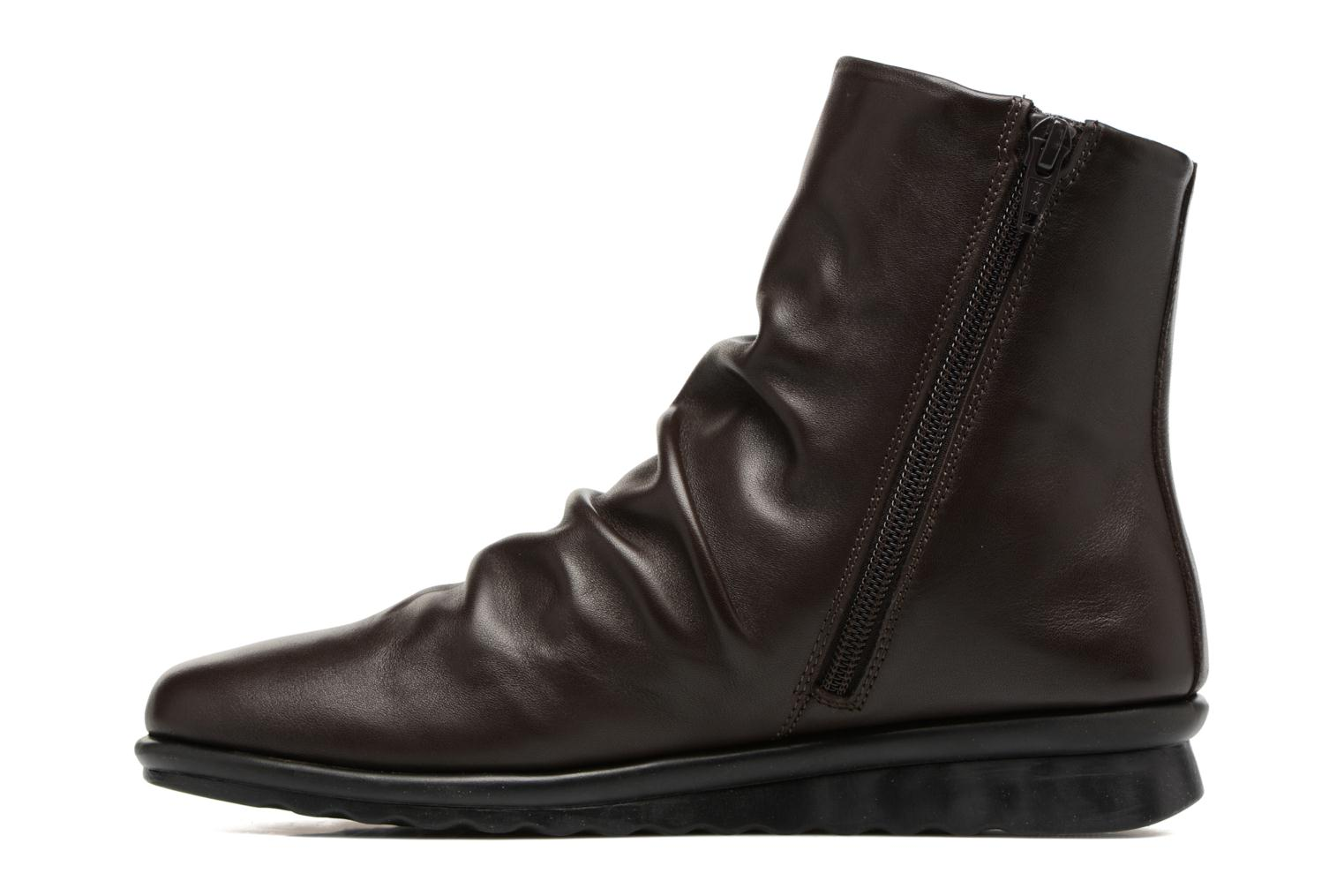 Ankle boots The Flexx Pan Fried Brown front view