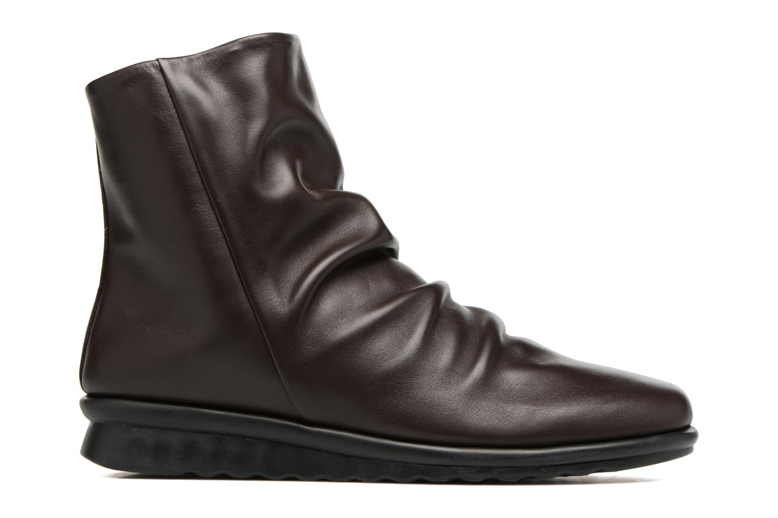 Ankle boots The Flexx Pan Fried Brown back view