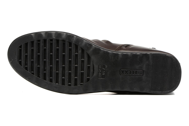Bottines et boots The Flexx Pan Fried Marron vue haut