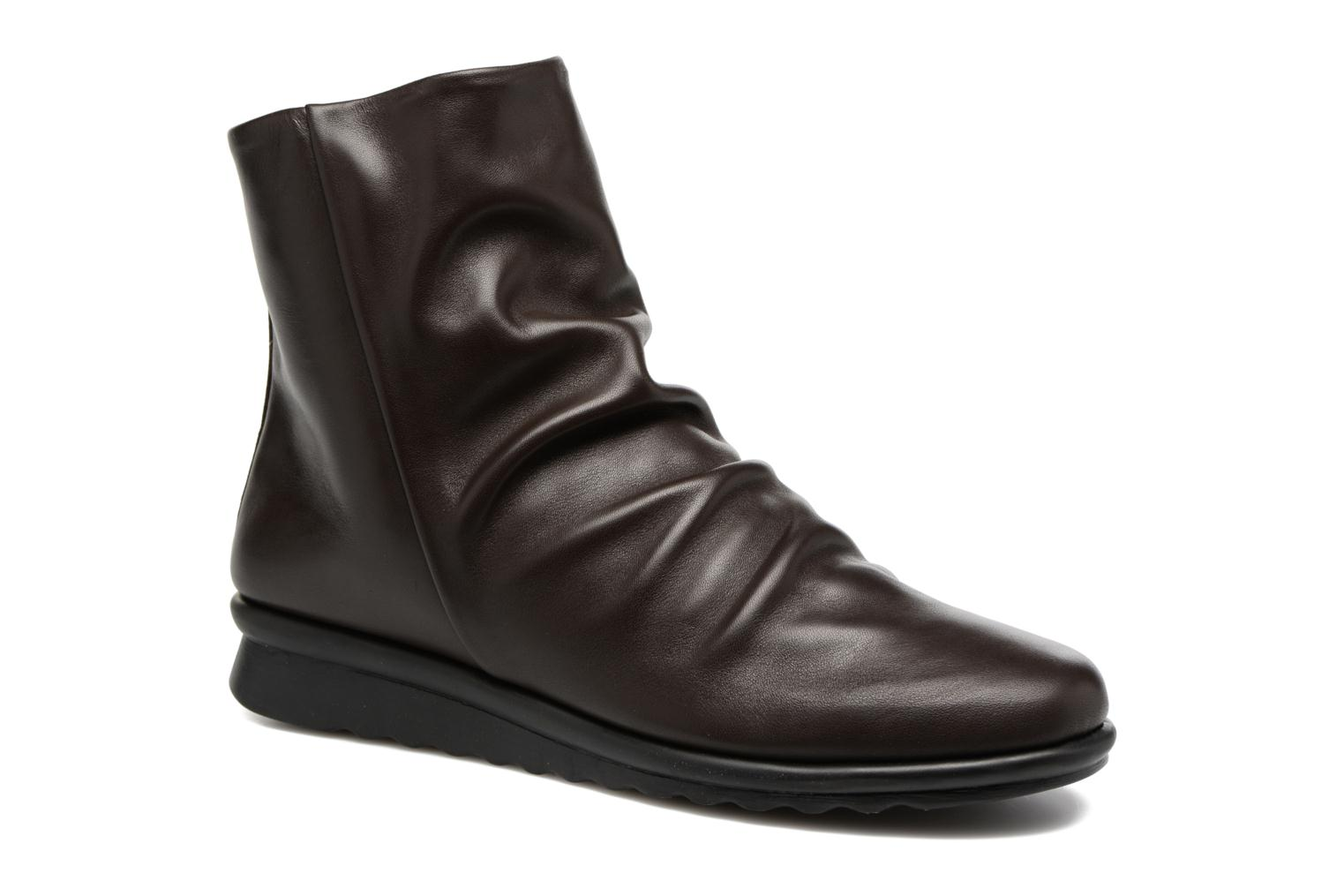 Ankle boots The Flexx Pan Fried Brown detailed view/ Pair view