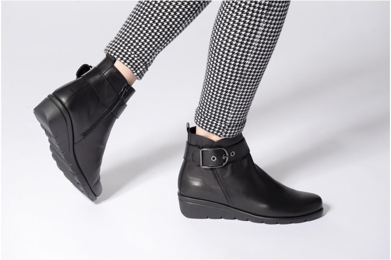 Bottines et boots The Flexx Nome Bounce Noir vue bas / vue portée sac