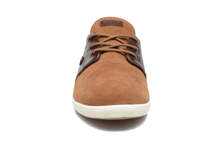 Baskets Faguo CYPRESS23 Marron vue portées chaussures