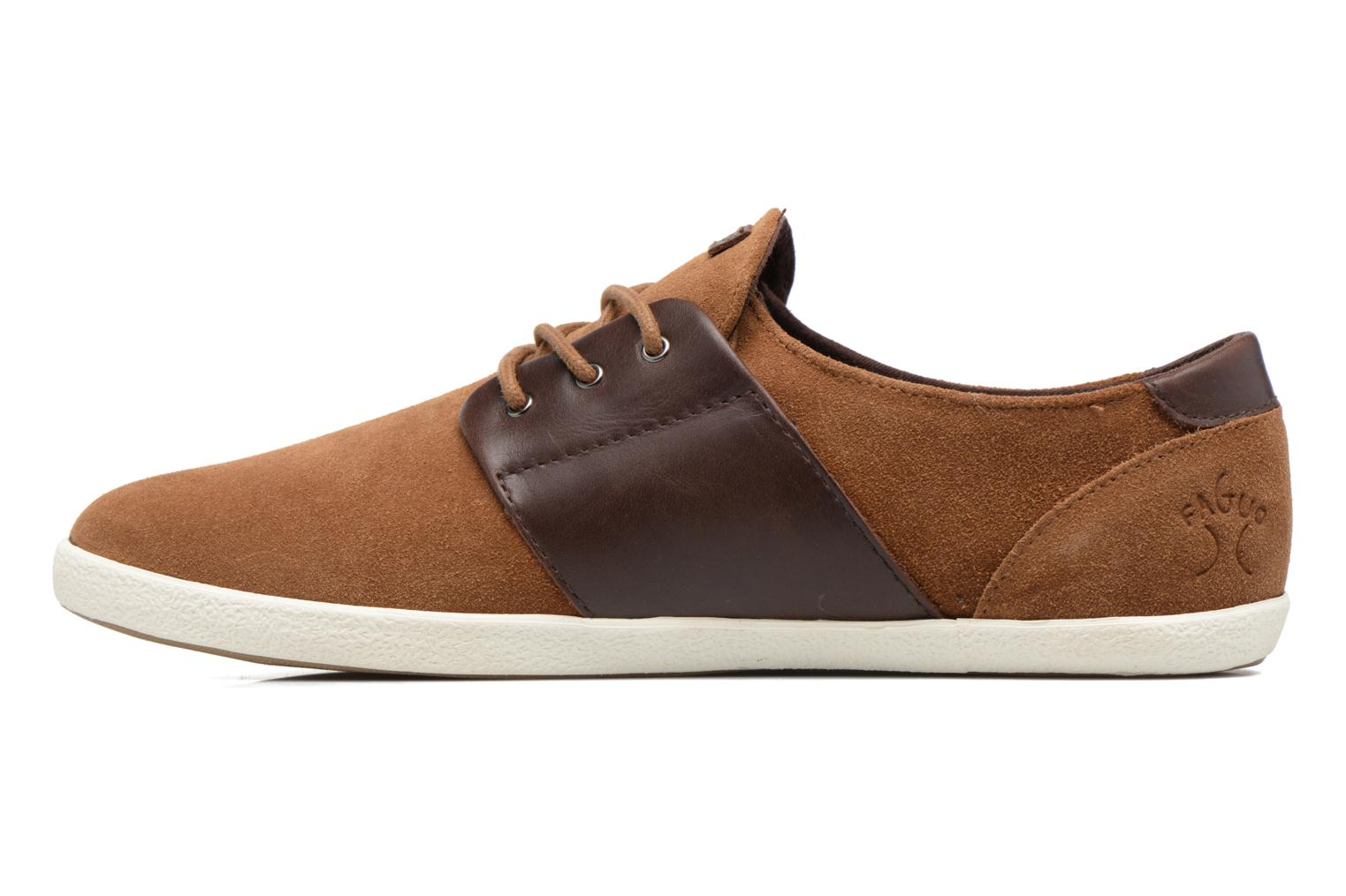 Trainers Faguo CYPRESS23 Brown front view