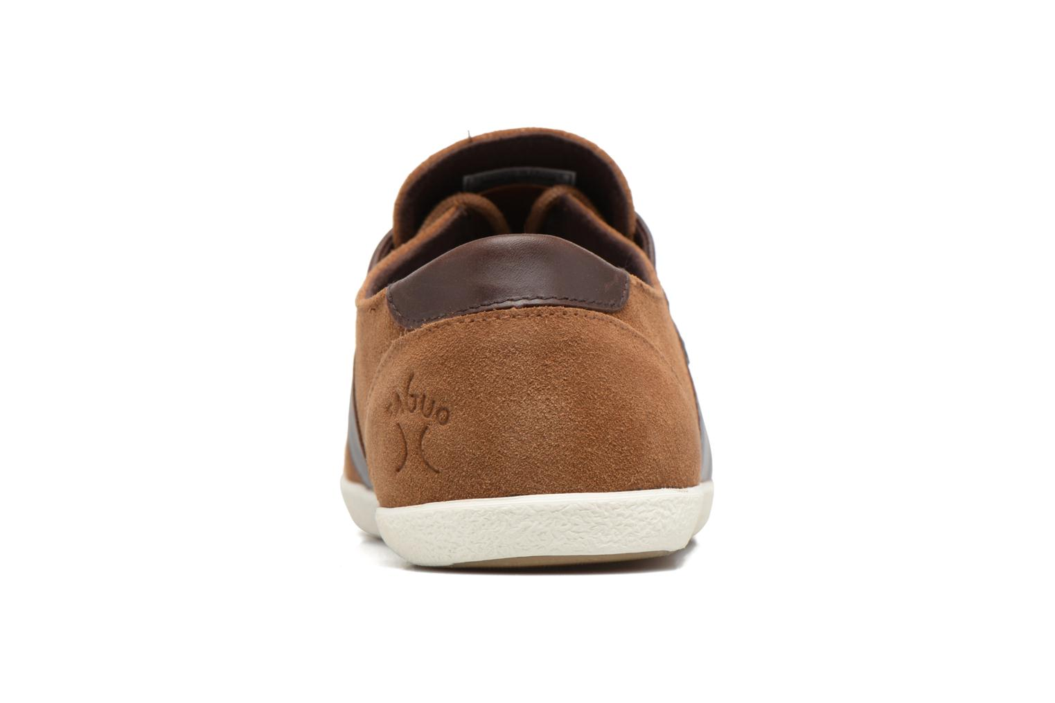 Trainers Faguo CYPRESS23 Brown view from the right