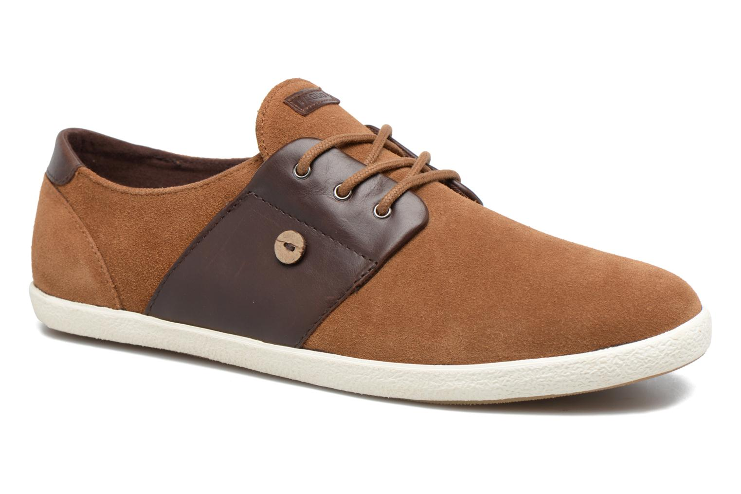 Trainers Faguo CYPRESS23 Brown detailed view/ Pair view