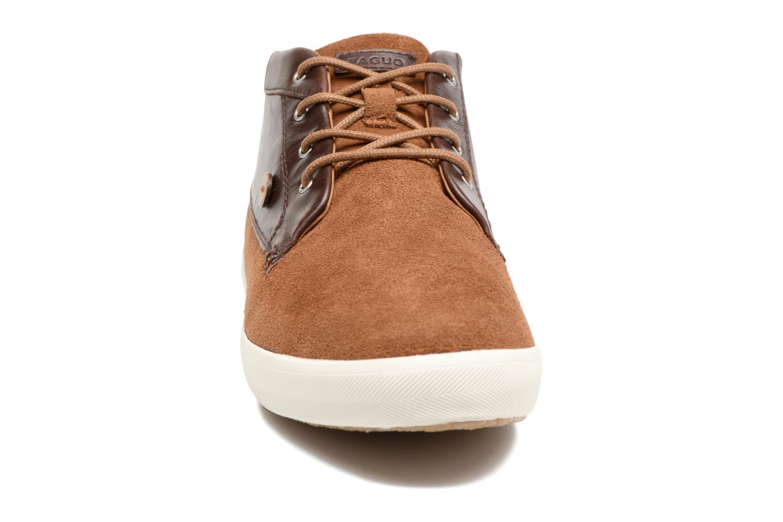Baskets Faguo WATTLE23 Marron vue portées chaussures