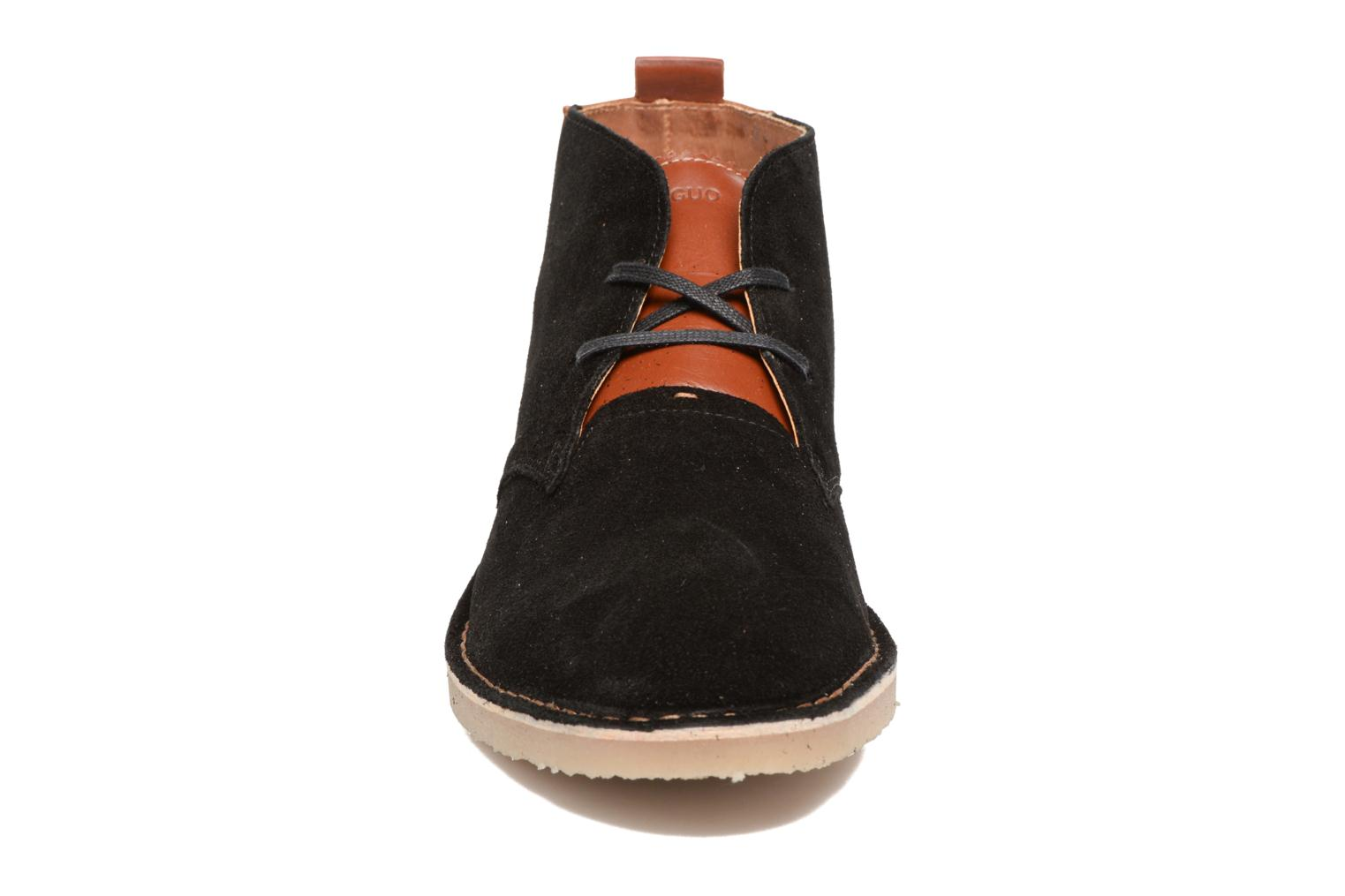 Ankle boots Faguo LEBANON02 Black model view