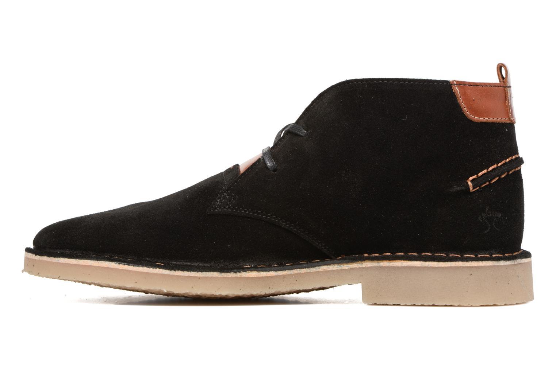 Bottines et boots Faguo LEBANON02 Noir vue face