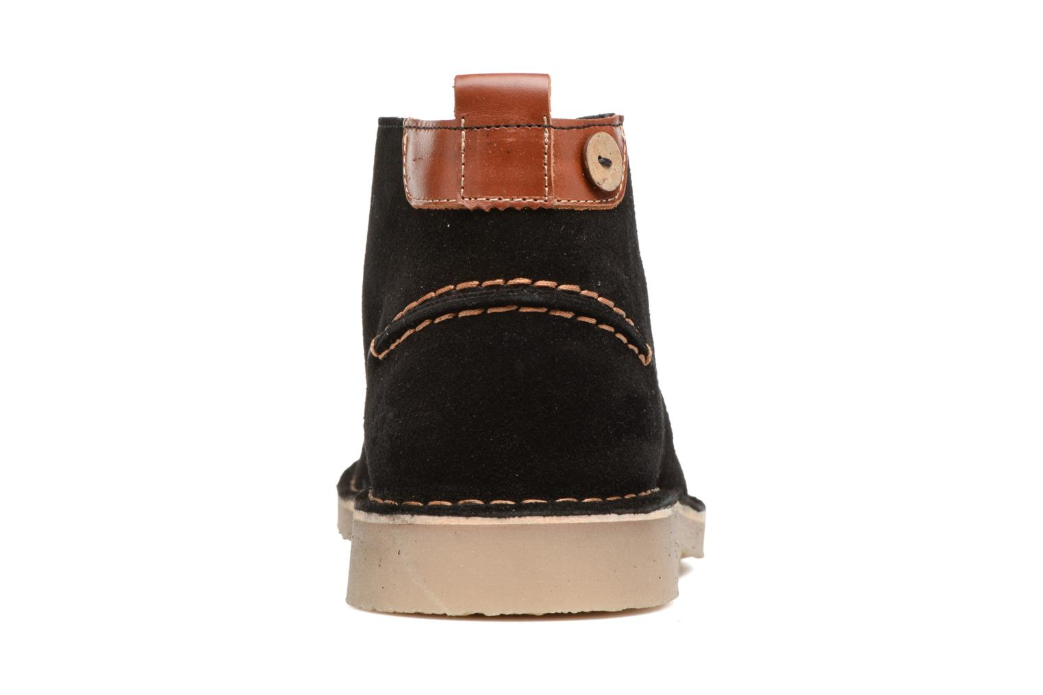 Ankle boots Faguo LEBANON02 Black view from the right