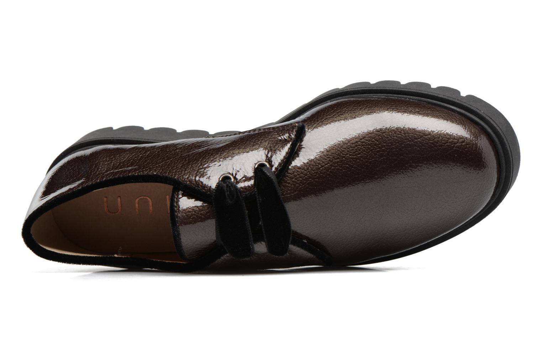 Chaussures à lacets Unisa Mick Gris vue gauche