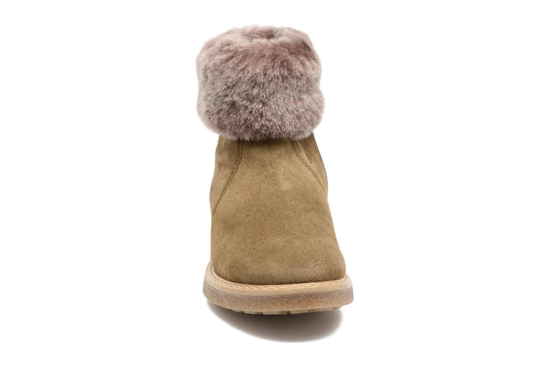 Bottines et boots Unisa Nudos Vert vue portées chaussures