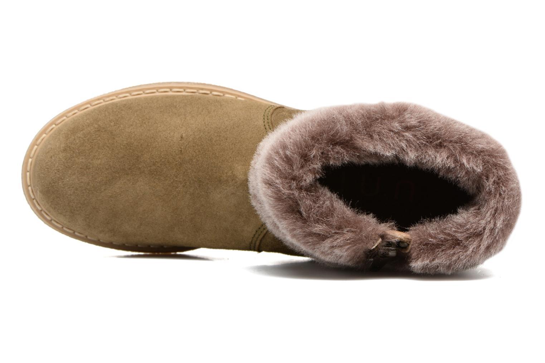 Bottines et boots Unisa Nudos Vert vue gauche