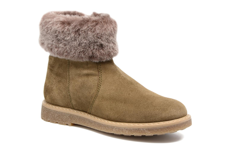 Bottines et boots Unisa Nudos Vert vue détail/paire