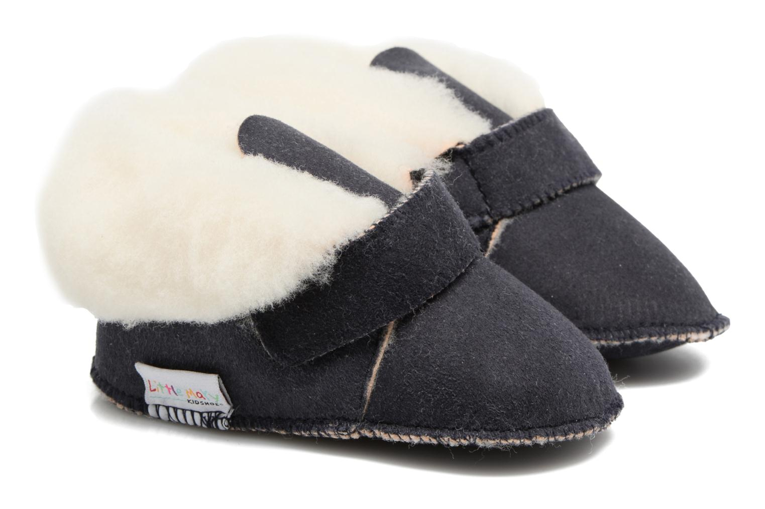 Pantoffels Little Mary BB Alaska Blauw detail