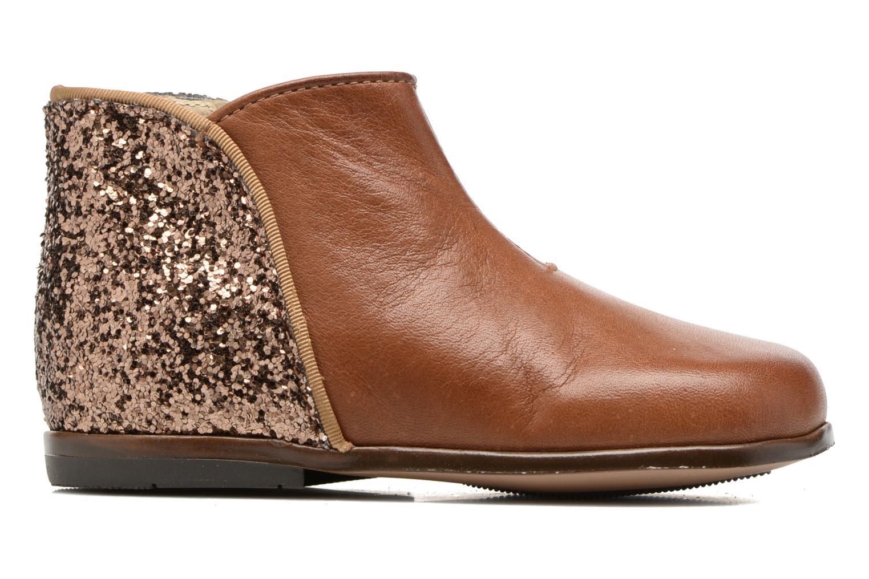 Bottines et boots Little Mary Clotilde Marron vue derrière