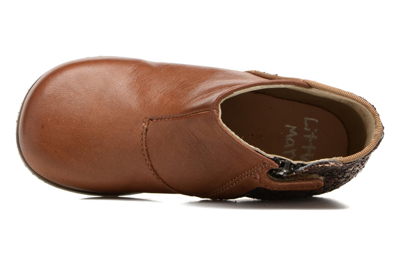 Bottines et boots Little Mary Clotilde Marron vue gauche