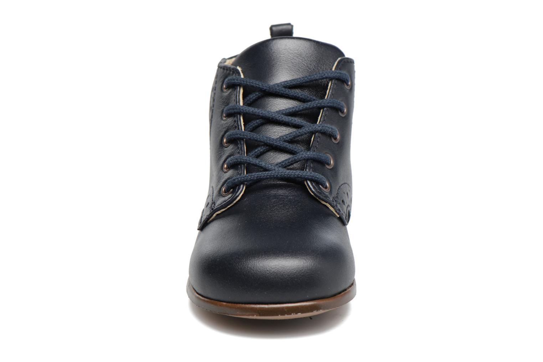 Bottines et boots Little Mary Ralf Bleu vue portées chaussures