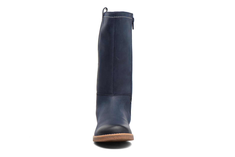 Bottes Clarks Tildy Grace Bleu vue portées chaussures