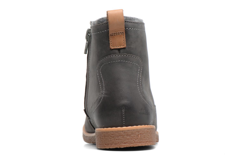 Bottines et boots Clarks Tildy Moe Gris vue droite