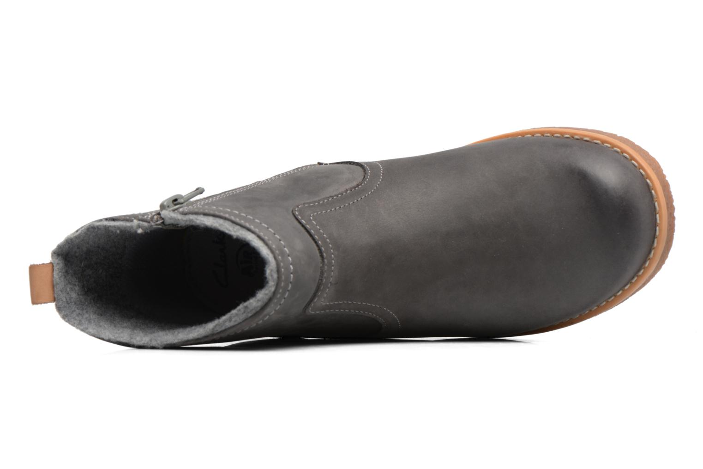 Bottines et boots Clarks Tildy Moe Gris vue gauche