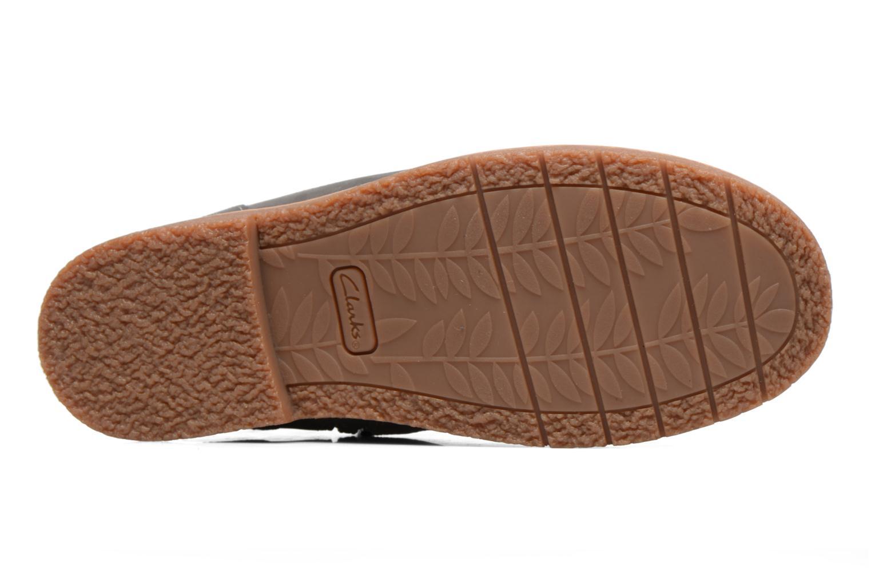 Bottines et boots Clarks Tildy Moe Gris vue haut