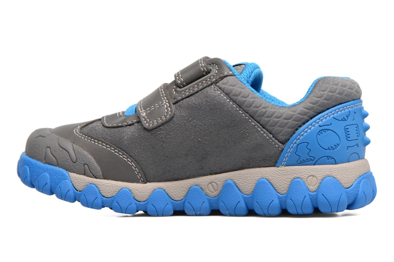Sneakers Clarks Tyrex shine Grigio immagine frontale