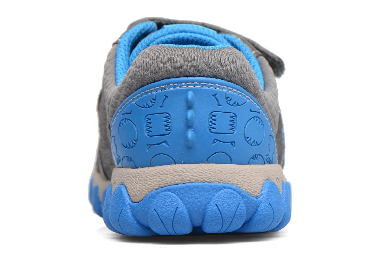 Sneakers Clarks Tyrex shine Grigio immagine destra
