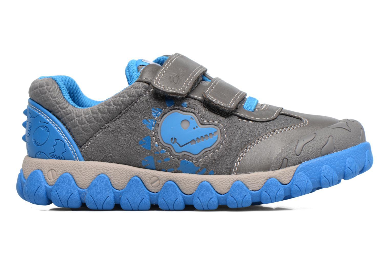 Sneakers Clarks Tyrex shine Grigio immagine posteriore