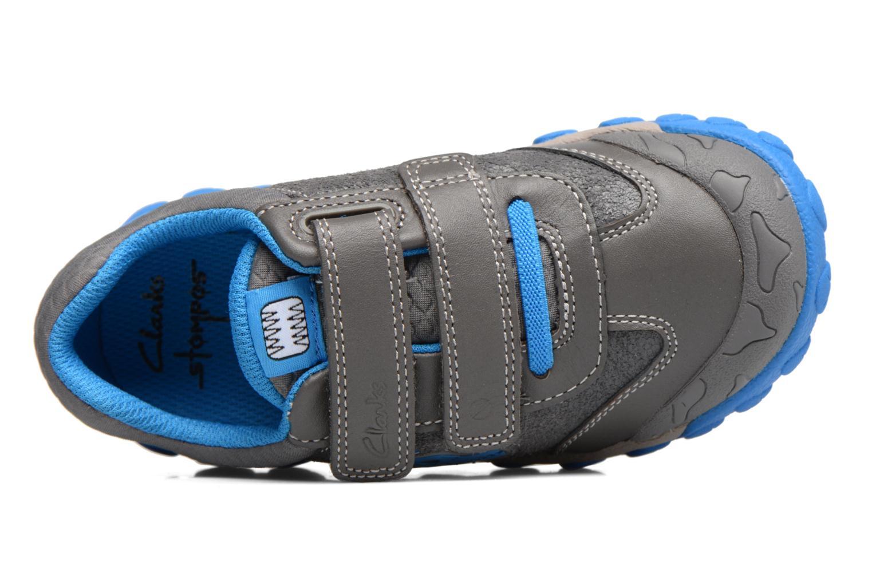 Sneakers Clarks Tyrex shine Grigio immagine sinistra