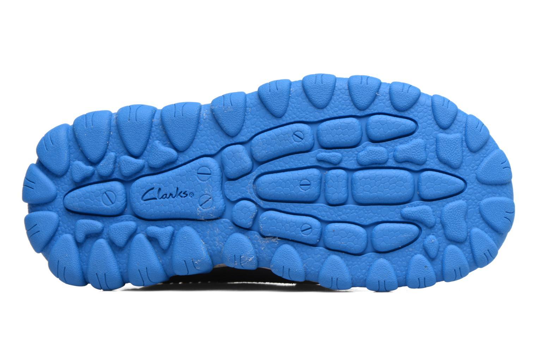 Sneakers Clarks Tyrex shine Grigio immagine dall'alto