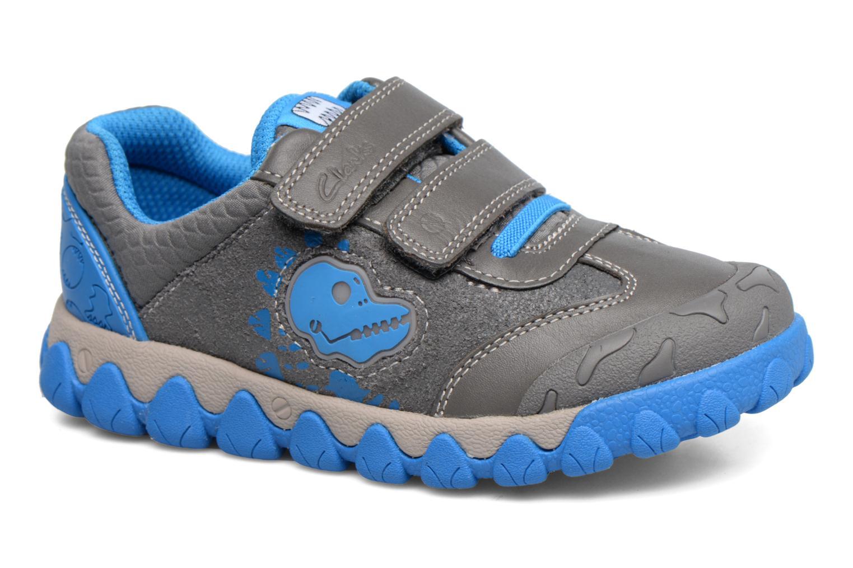 Sneakers Clarks Tyrex shine Grigio vedi dettaglio/paio