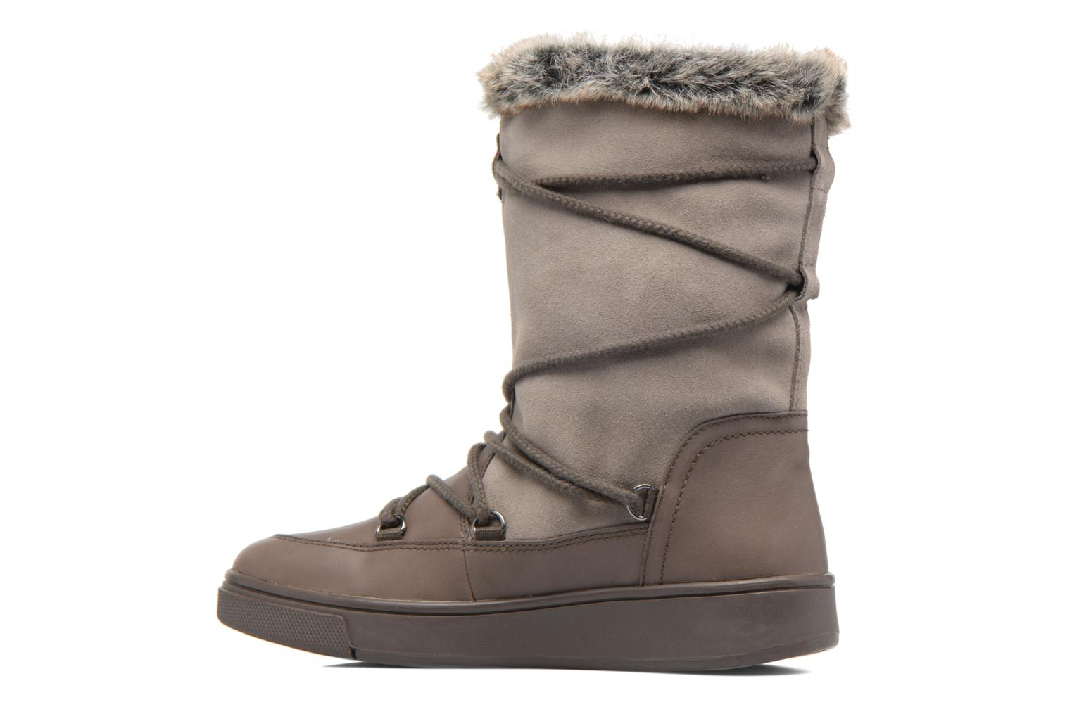 Boots & wellies Geox D Mayrah B Abx A D743MA Brown front view